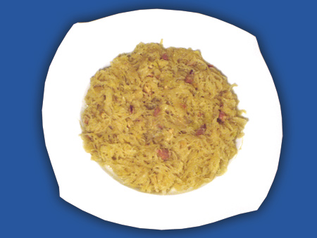 Sauerkraut mit Bauchspeck 800g