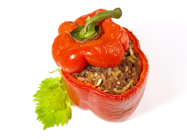 1 gefüllte Paprika 800g