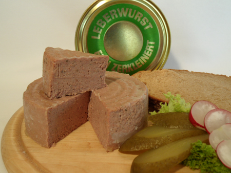 Leberwurst fein