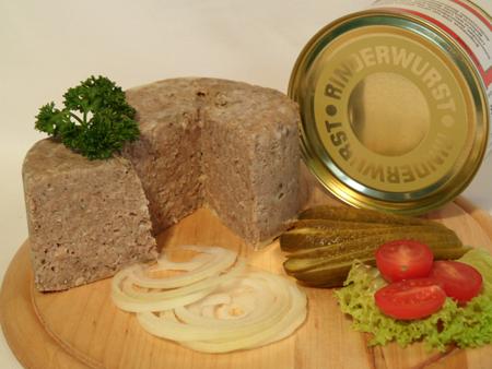 Rinderwurst Kopfwurst 400g