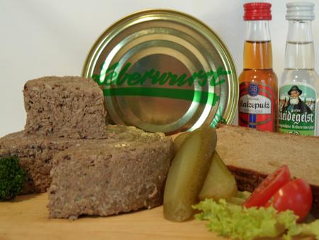 Heidschnuckenleberwurst